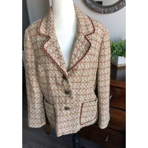 Vintage Tweed Alfred Dunner Jacket